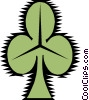 Vector Clipart picture  of a Shamrock