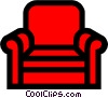 Comfortable chair clip art