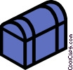 Trunk Vector Clipart image