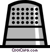Thimble Vector Clipart picture