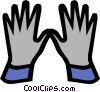 Vector Clipart picture  of a Safety gloves