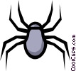 Spider Vector Clipart illustration