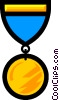 Vector Clipart graphic  of a Medals