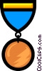 Medals Vector Clipart illustration