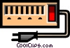 Power bar Vector Clipart illustration