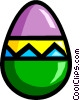Easter egg Vector Clipart illustration
