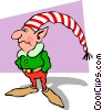 Elf Vector Clip Art graphic