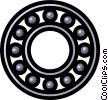 Vector Clipart graphic  of a Bearings