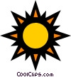 Sunshine Vector Clipart graphic