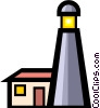 Vector Clipart image  of a Lighthouses