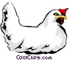 Chicken Vector Clipart graphic