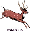 Vector Clipart graphic  of a This is a deer