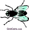 Vector Clipart illustration  of a House fly