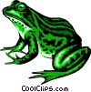 Frog Vector Clipart image