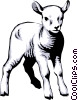 Lamb Vector Clipart picture