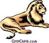 Vector Clipart image  of a Lion