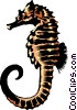 Sea horse Vector Clipart picture