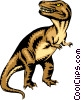 Vector Clipart illustration  of a Tyrannosaurus Rex