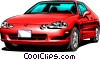 Sports car Vector Clipart image