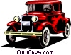 Classic cars Vector Clipart picture