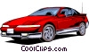 Eagle Talon Vector Clipart graphic