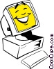 Computers Vector Clipart image