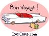 Bon Voyage! Vector Clipart picture