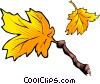 Vector Clipart graphic  of a Leaves and branch
