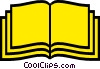Vector Clip Art graphic  of a Bibles