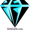 Vector Clipart graphic  of a Diamond