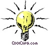 Vector Clip Art graphic  of a Light bulb