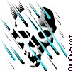 Acid rain Vector Clip Art picture