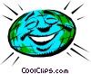 Vector Clip Art graphic  of a Mother earth