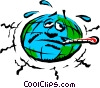 Mother earth Vector Clipart image