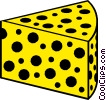 Vector Clipart image  of a Cheese