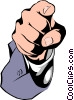Pointing fingers Vector Clipart image
