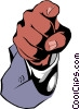 Vector Clipart picture  of a Pointing fingers