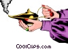 Magic lamp Vector Clipart picture