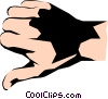 Thumbs down Vector Clipart illustration