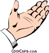 Hands Vector Clipart graphic