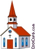 Churches Vector Clip Art graphic