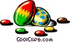 Easter eggs Vector Clipart image
