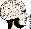 Human brain Vector Clipart picture