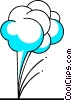 Weather clouds Vector Clipart illustration