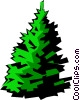 Vector Clip Art graphic  of a Trees