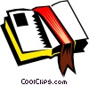 Vector Clipart graphic  of a Bible