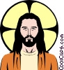 Jesus Christ Vector Clipart illustration