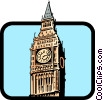 Vector Clipart picture  of a Big Ben