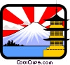 Vector Clipart graphic  of a Japanese