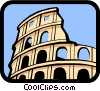Vector Clip Art picture  of a Coliseum